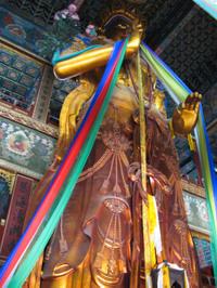 statue de Maitreya/Maitreya statue